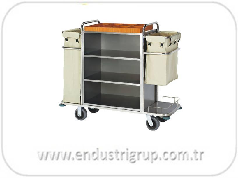 metal-paslanmaz-celik-personel-medikal-otel-saglik-hastane-laboratuvar-hizmet-temizlik-metal-tasima-servis-arabasi-arabalari-standi